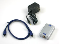 TOSLink Optical to Coaxial Digital Audio Converter, Included Items