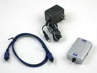 Coaxial to TOSLink Optical Digital Audio Converter, Included Items