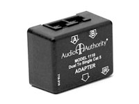 Audio Authority 1110 2-to-1 Cat 5 Converter input side