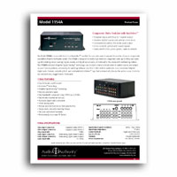 Audio Authority 1154A Focus Sheet - click to download PDF