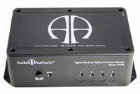 Audio Authority 4x1 Component Video and Audio AutoSelector Switch - top view