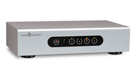 Audio Authority 1154B Signal-Sensing HDTV AutoSelector for Home Theater