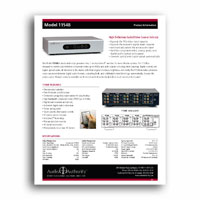 Audio Authority 1154B focus sheet