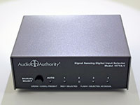 Audio Authority 1177A-1 cabinet finish