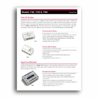 Audio Authority DC Blocker Focus Sheet