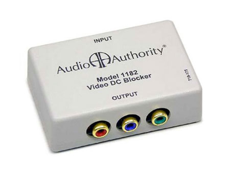 Audio Authority 1182 Passive DC Blocker