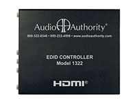 Audio Authority 1322 HDMI EDID Controller - top view