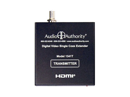 The Audio Authority 1341T HDMI over Coax Transmitter