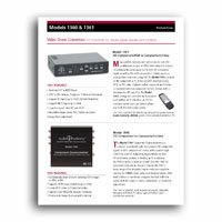 Audio Authority 1360 Focus Sheet