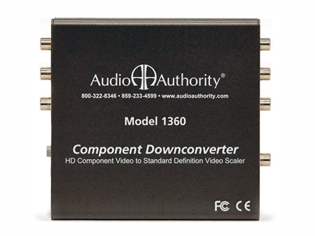 Audio Authority 1360 Component Downconverter