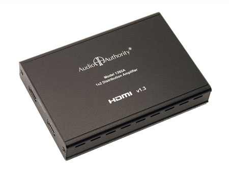 Audio Authority 1392A 1:2 HDMI ver. 1.3 Distribution Amp/Splitter