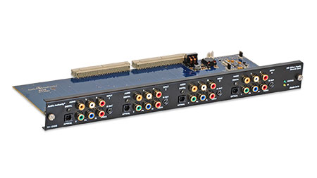 Audio Authority 2114 4-input HD Video/Audio Source Card for HLX