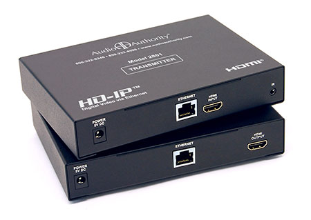 Gigabit  Cat5 on 2800 Series Hd Ip Hdmi Over Gigabit Ip Video Distribution System