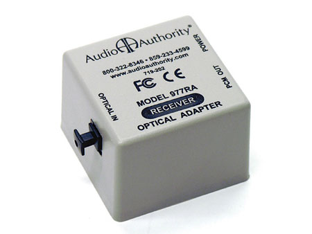 Audio Authority 977RPO TOSLink Optical to Coaxial Digital Audio Converter.
