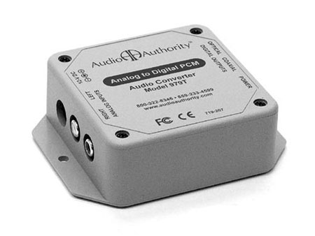 Audio Authority 979T Analog Audio to Digital Audio (PCM) Converter