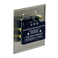 Audio Authority 9878 Wallplate, back