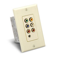 Audio Authority 9879 Single-gang Decora Wallplate Reveiver - Click here to view product page