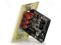 Audio Authority 9879 Wallplate Receiver back