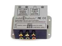 Audio Authority 9880T Enclosed Transmitter, top view