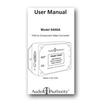 Audio Authority 9A60A User Manual - click to download PDF