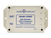 Audio Authority 9A60A High-Definition VGA to Component Video Transcoder