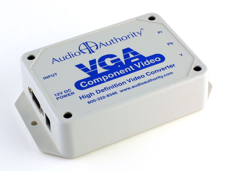 Audio Authority 9A60 High-Definition VGA to Component Video Transcoder