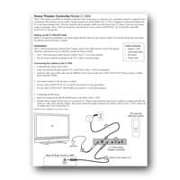 Audio Authority C-1024A User Manual