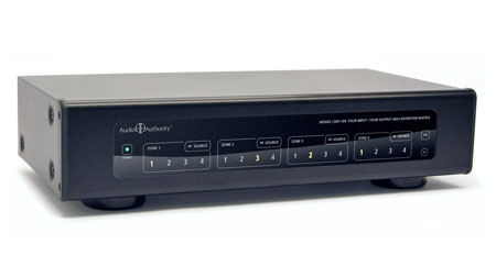 Audio Authority CMX-144 4x4 Component Video / Audio Matrix Switcher