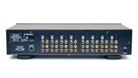 4x4 Component Video / Audio Matrix back panel