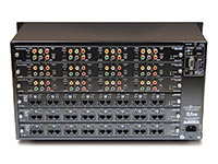 Audio Authority HLX-12C24D 12x24 Modular Matrix Distribution System,  back panel