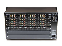 Audio Authority HLX-12C8D 12x8 Modular Matrix Distribution System, back panel