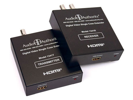 Audio Authority HXE-11 HDMI over Single Coax Distribution System