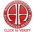 Audio Authority Authorized Reseller Seal