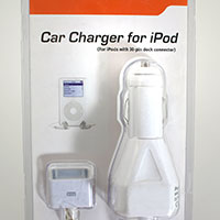 Cable Solutions 42-130 Car Charger for iPod / iPhone