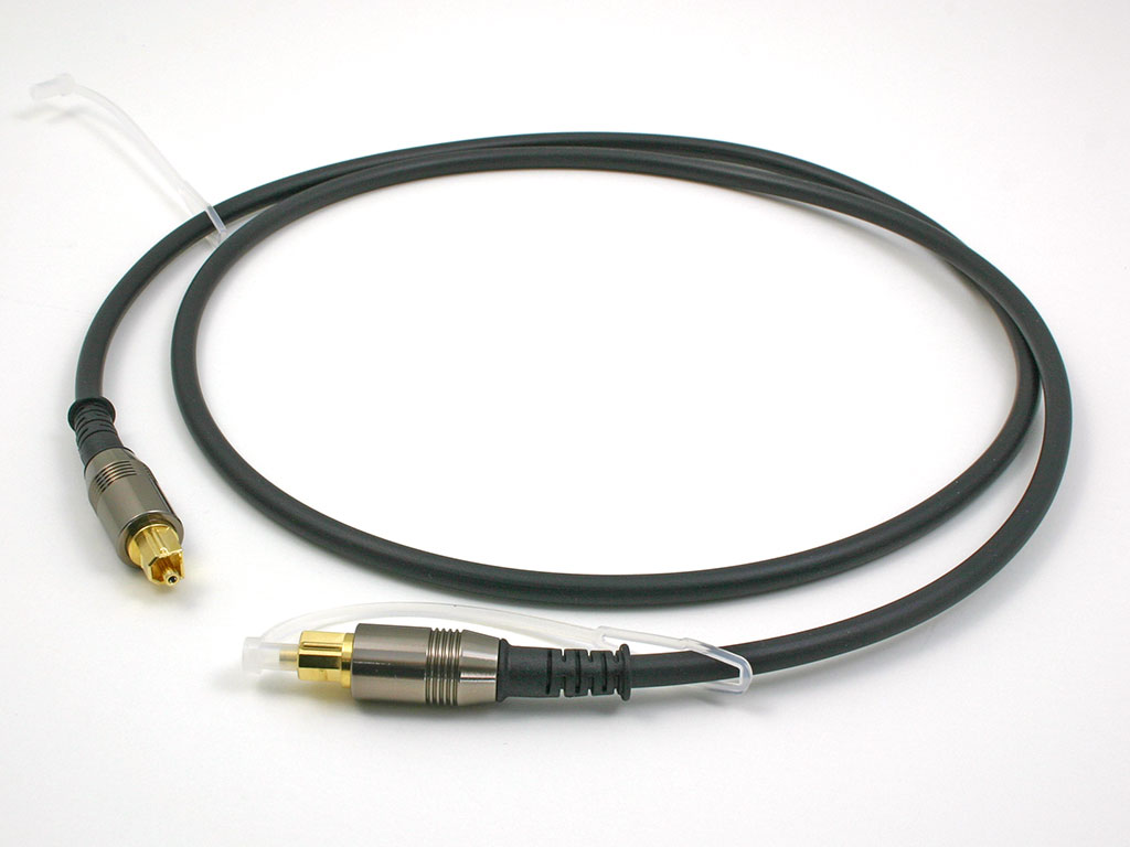 Cable Solutions TOS-Series TOSLink Optical Interconnect Cables (pewter)