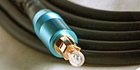 Cable Solutions TOS Series Optical Digital Audio Interconnects (blue)