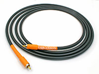 "Cable Solutions ""Signature Series 77"" Spec Your Own RCA Interconnect Cable, orange"
