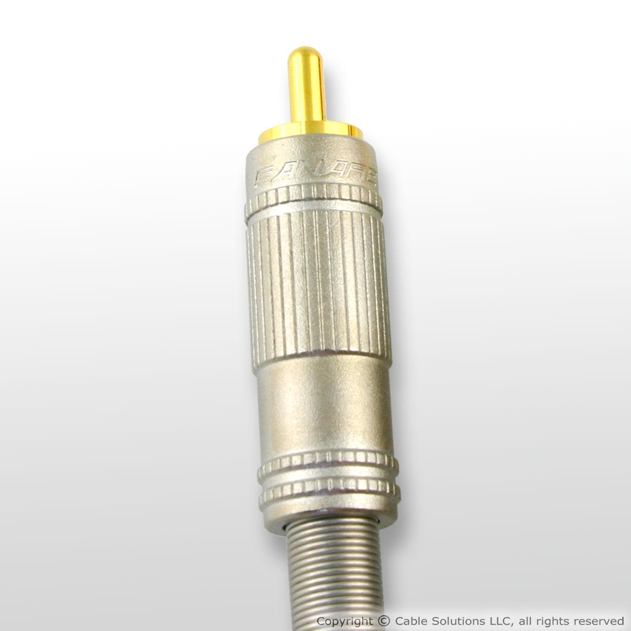 Canare F-09 Narrow Profile RCA Plug-by Canare