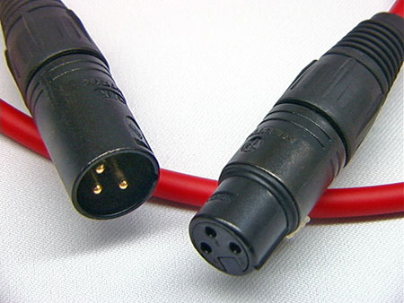 Canare L-4E6S Balanced Audio Interconnect Cable with Neutrik X-Series XLR Connectors