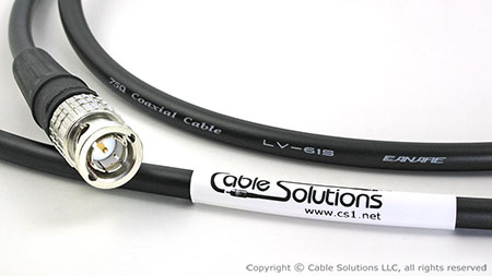 "Canare LV-61S Precision ""Spec Your Own"" Cable - Custom cable in your choice of ten different cable  				  colors, eleven different boot options, and three different connector types!"
