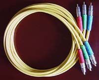 Canare LV-61S Component Video Cable Set (yellow jacket)