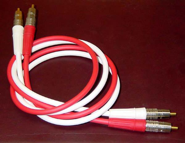 Canare Precision Stereo Audio Interconnect Cables 0.9m
