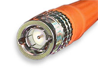 Canare 75 Ohm BNC connector option