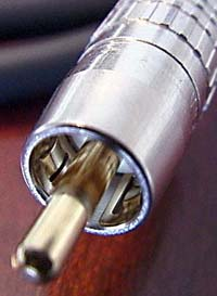 "Canare's Remarkable ""True 75 Ohm"" Impedance-matched RCA Connector"