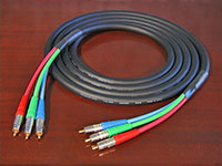 Canare V3-5C Pro Series Precision Jacketed Component Video Cable, 4 meter
