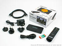 DarbeeVision DVP-5000S Included Items