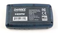 Darbeevision DVP-5000 Darblet, Bottom