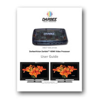 DarbeeVision DVP-5000 Darblet User Guide
