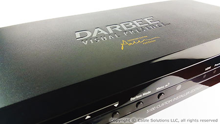 DarbeeVision DVP-5100CIE DVP-5100CIE Video Processor, Paul Darbee Signature Edition
