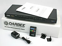 DarbeeVision DVP-5100CIE DVP-5100CIE Custom Installer Edition Video Processor, Darbee SE, included items